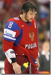 Сборная России - сборная Чехии
